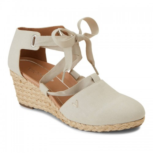 Vionic Aruba Kaitlyn - Women's Lace-Up Wedge