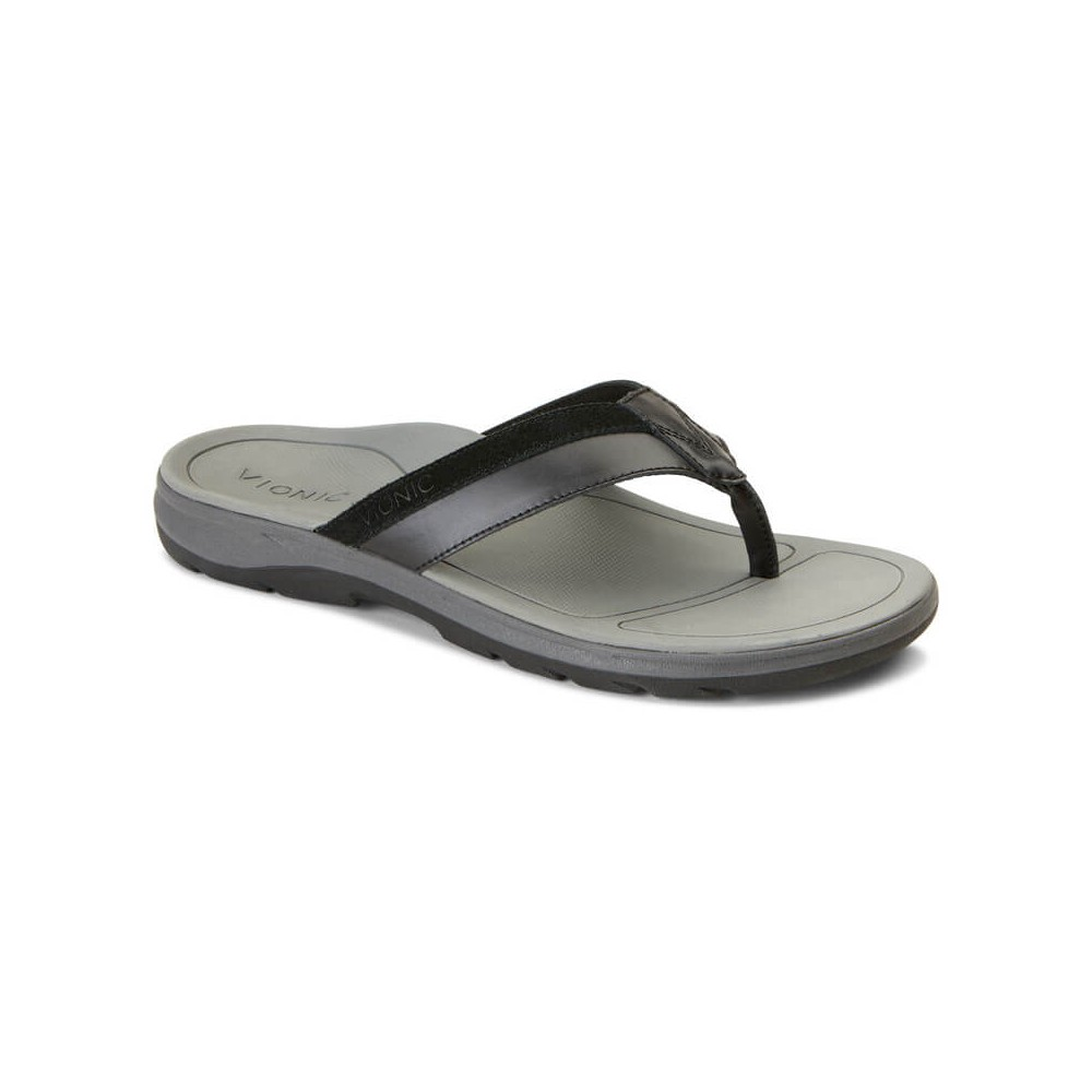 Vionic Dennis - Men's Toe Post Sandals
