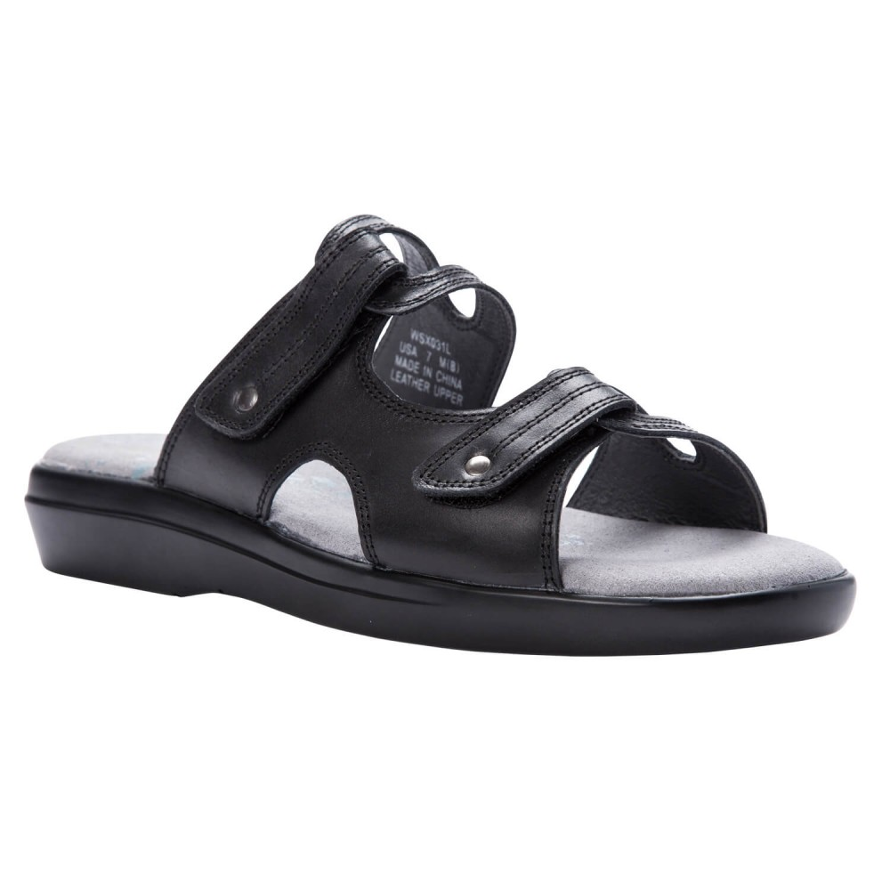 Propet Marina Slide - Women's Orthopedic Casual Sandals