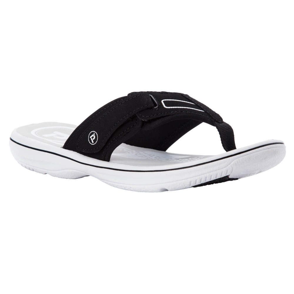Propet Edie - Women's Comfort Flip-Flop Water-Friendly Sandals