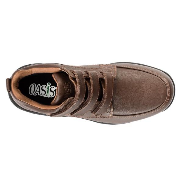 5e371f493b0 ... Oasis Jackson Hook & Loop Comfort Casual Boot - Men's Orthopedic Boots