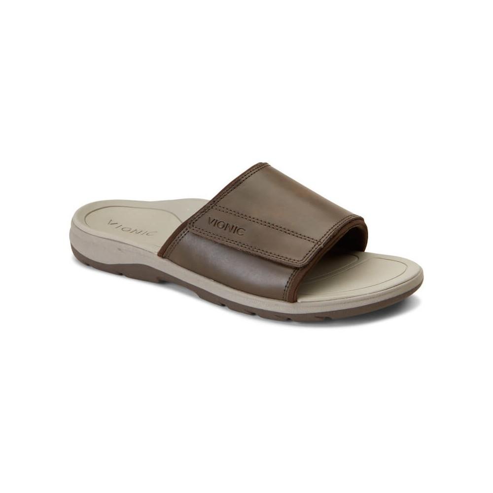 Vionic Canoe Stanley - Men's Comfort Slide Sandal