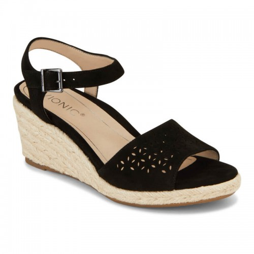 Vionic Tulum Ariel - Women's Backstrap Wedge Sandal