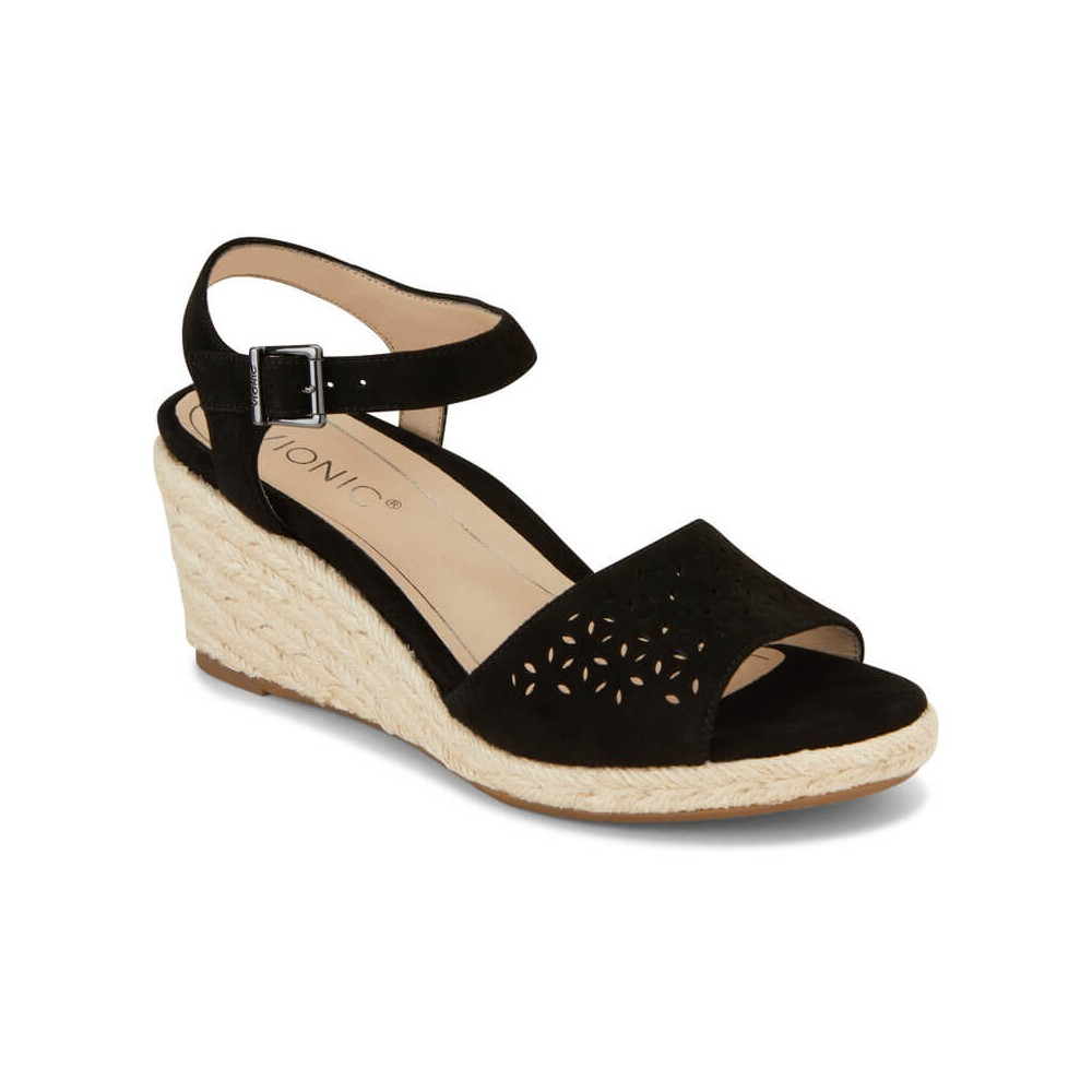 Vionic Tulum Ariel - Women's Backstrap Wedge Sandal