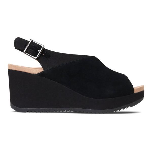 6d45530a7c0 ... Vionic Trixie - Women s Backstrap Wedge Sandal ...