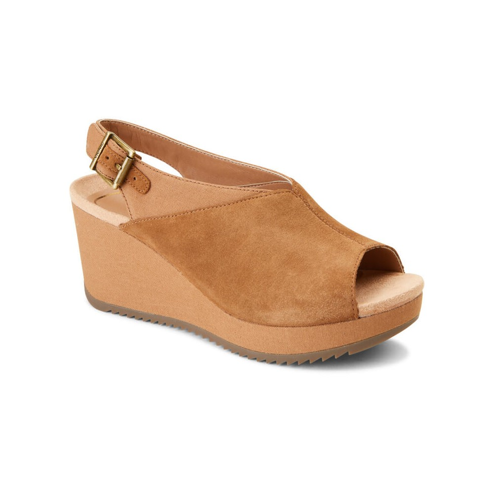 Vionic Trixie - Women's Backstrap Wedge Sandal
