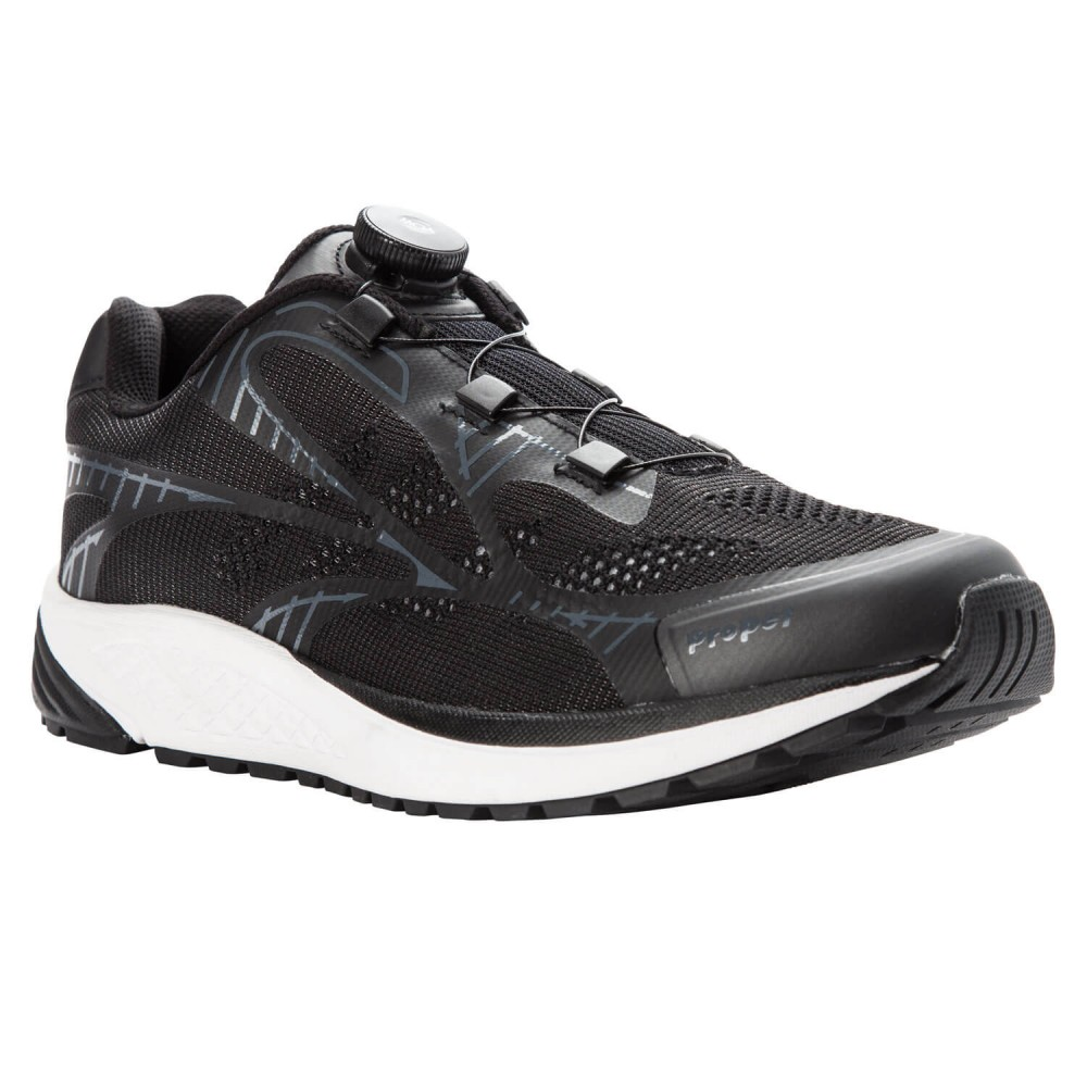 Propet One Reel Fit - Men's Comfort Sneaker Walking Shoes