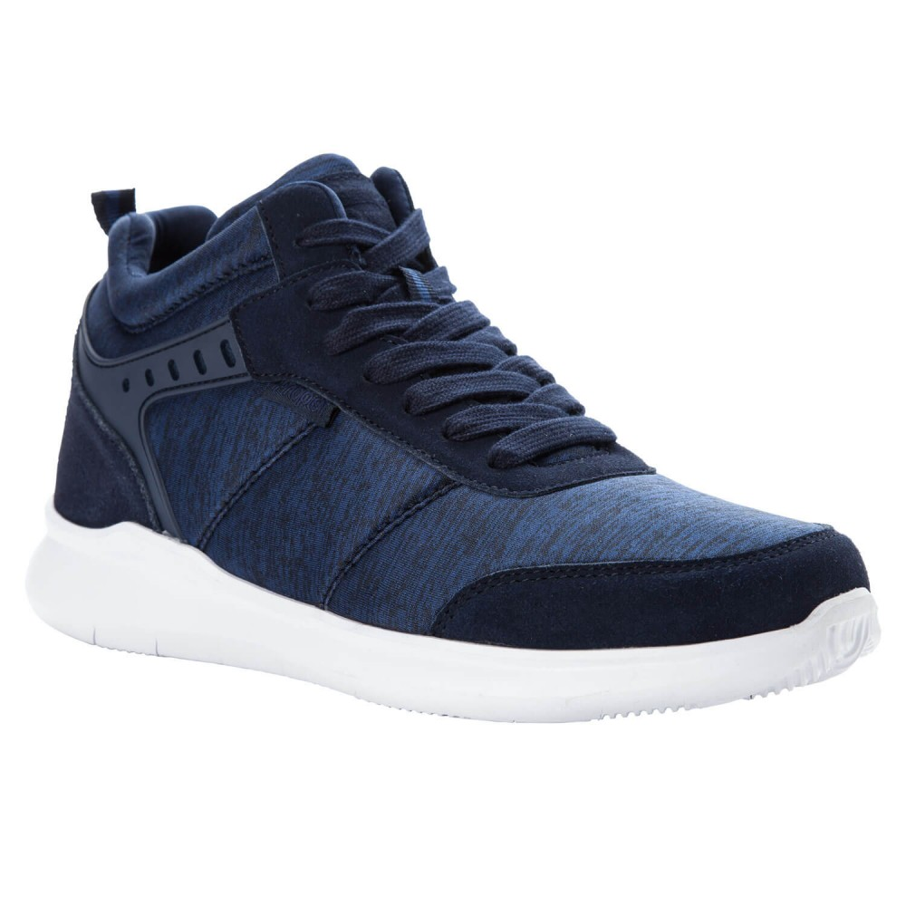 Propet Viator Hi - Men's Comfort Sneaker Walking Shoes