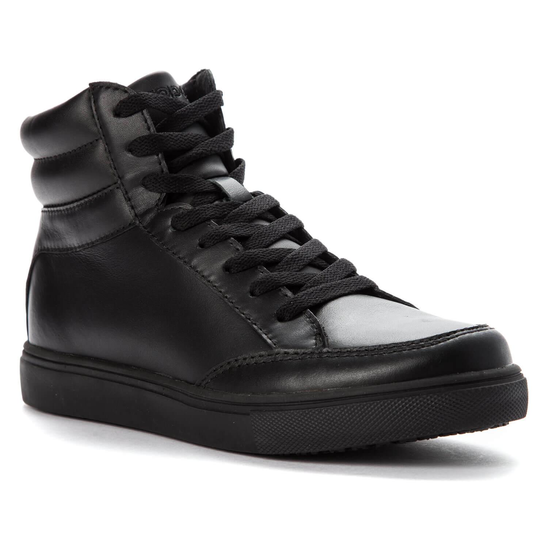 Slip Resistant Hi-Top Work Shoes