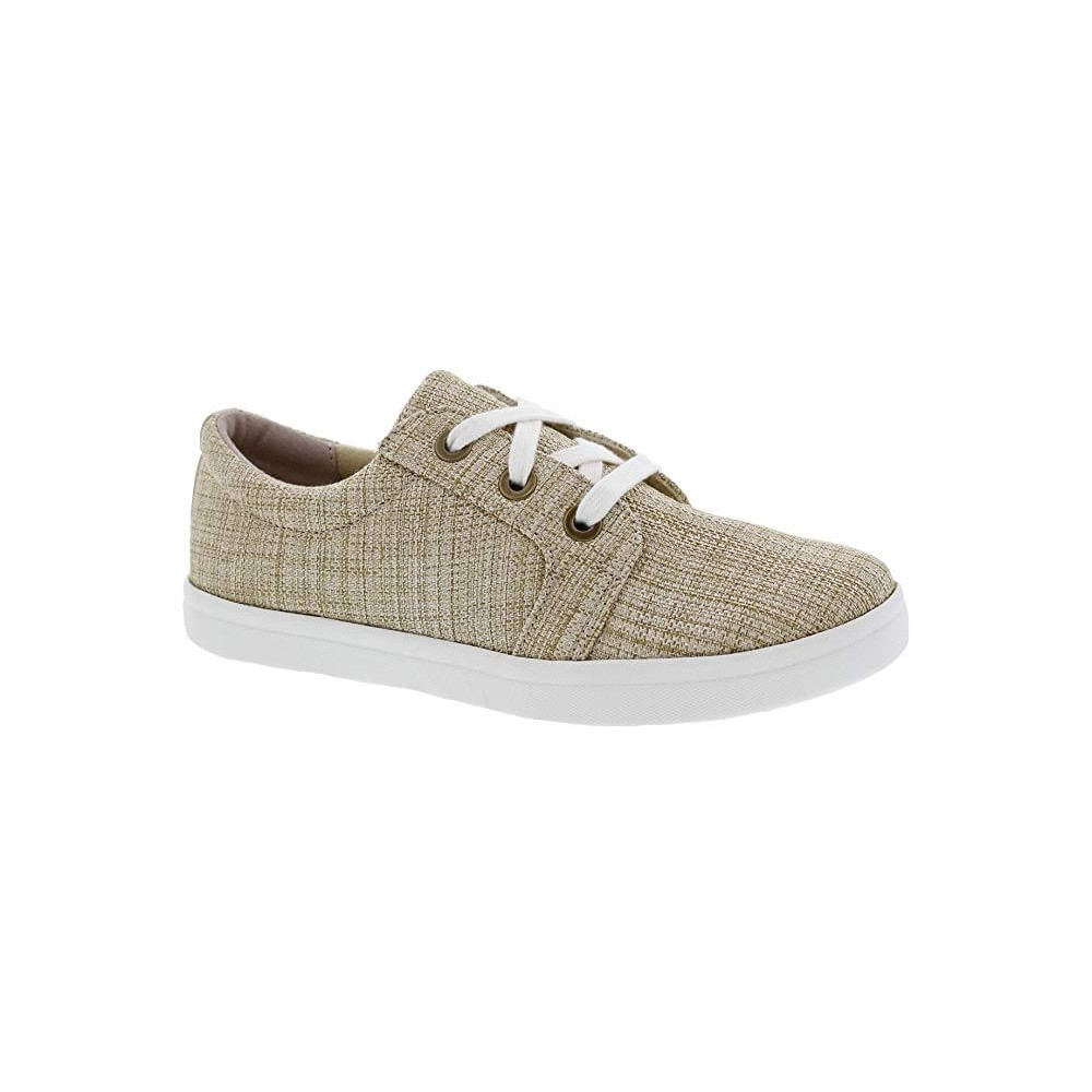 Drew Ruby - Women's Leather/Mesh Comfort Shoes