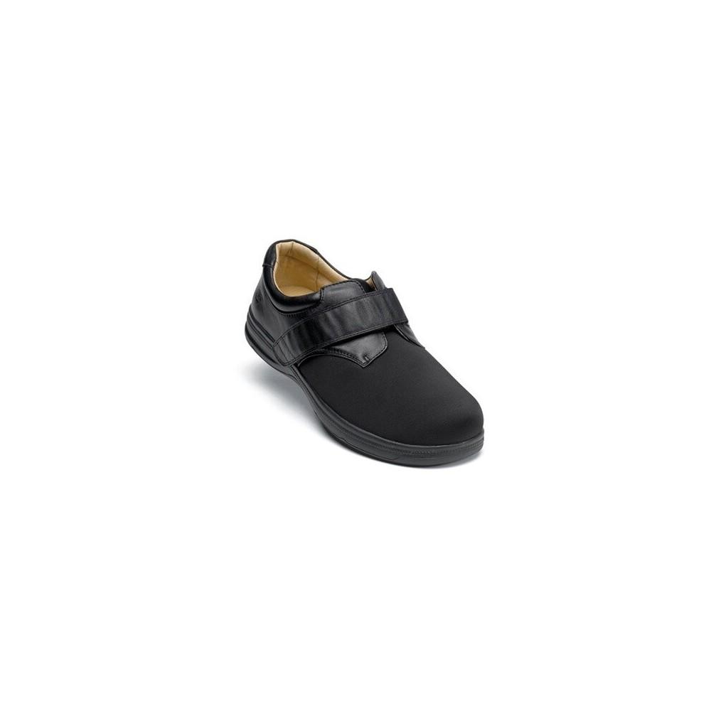 Surefit Santiago - Men's Hook and Loop Stretch Top Shoes