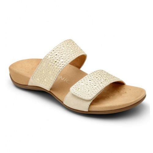 Samoa Slide Sandal - Gold - Vionic Footwear