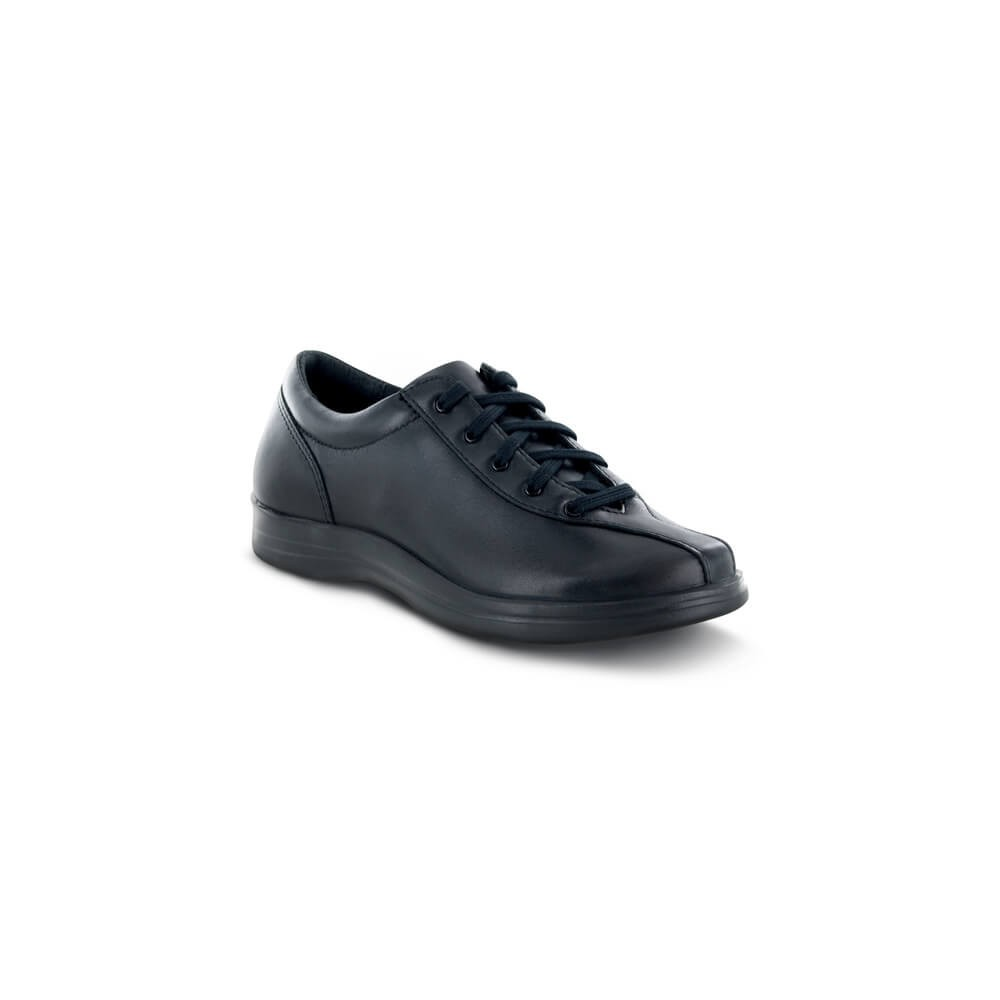 Apex Liv - Women's Comfort Casual Leather Lace-Up Shoes