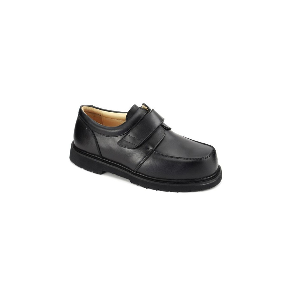 Black - Apis Men's Boxer Dogs Casual Dress Shoes - 9921