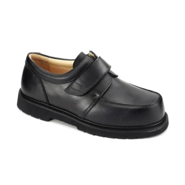 5e009835240d Black - Apis Men s Boxer Dogs Casual Dress Shoes - 9921