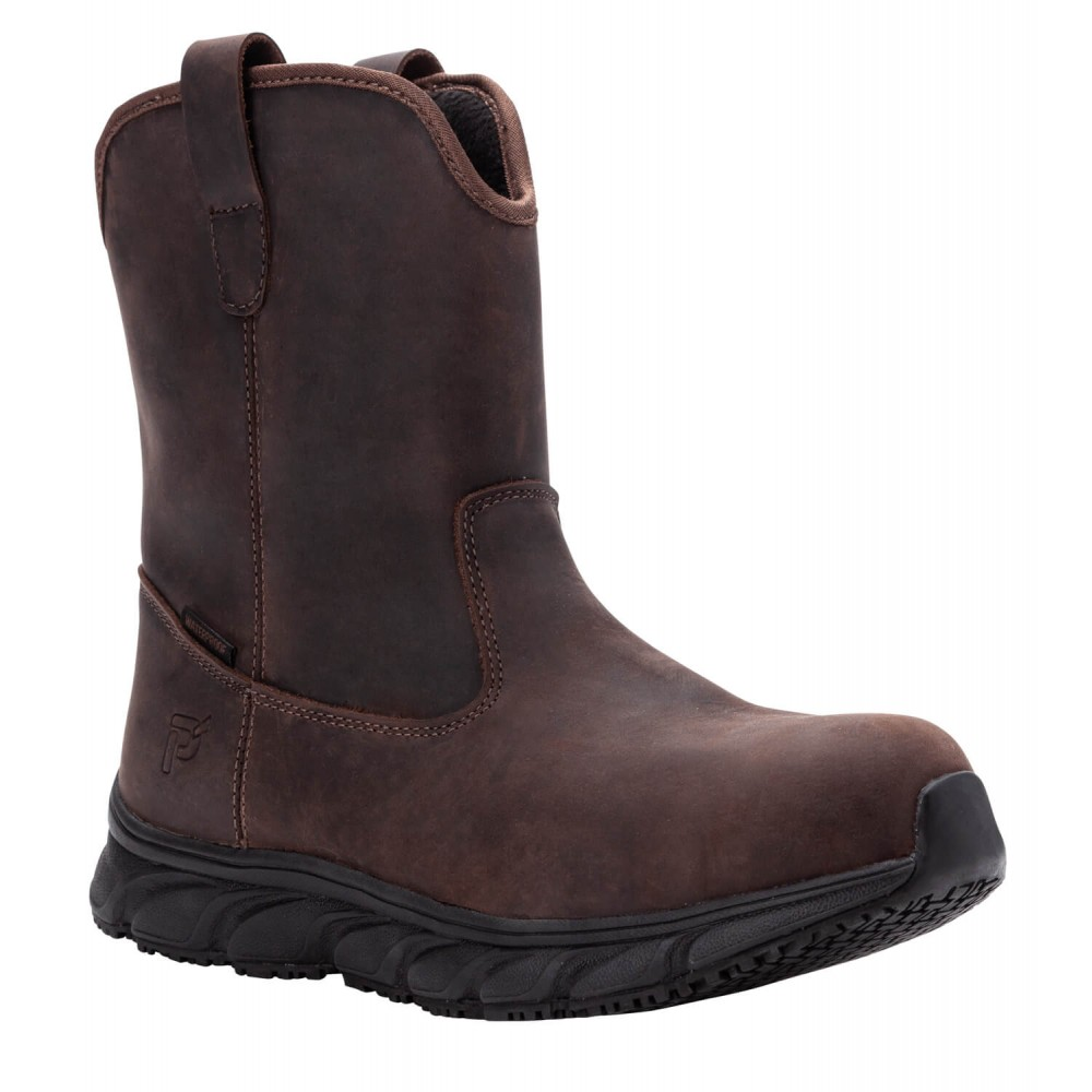 Propet Smith - Men's Safety Toe Cowboy Work Boots