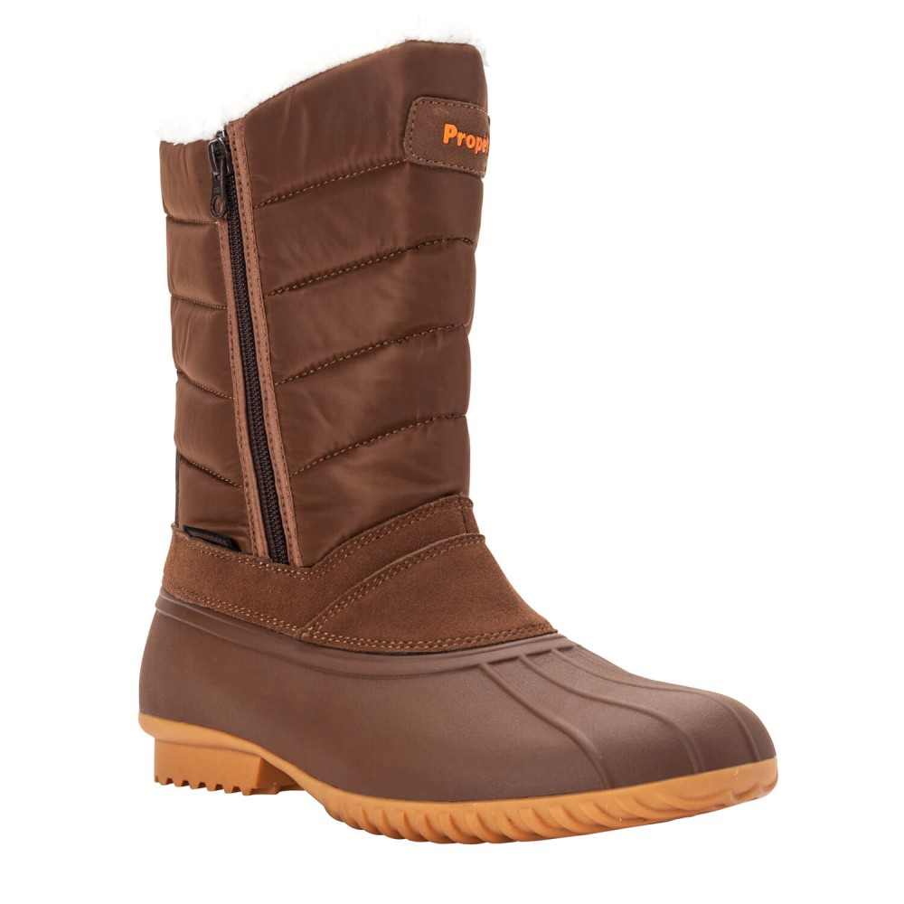 Propet Illia - Women's Insulated Weather-Resistant Zip-Up Winter Boots
