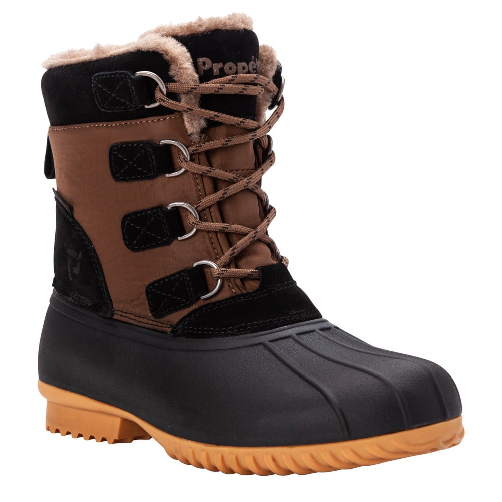 Propet Ingrid - Women's Insulated Weather-Resistant Lace Winter Boots