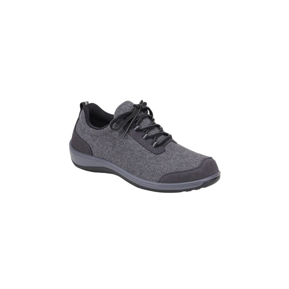 Orthofeet Sierra Gray - Women's Comfort Shoes