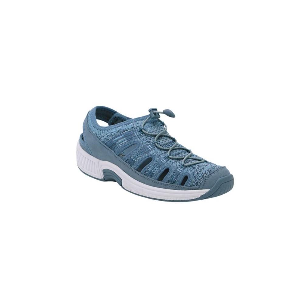 Orthofeet Laguna Blue - Women's Comfort Sandal