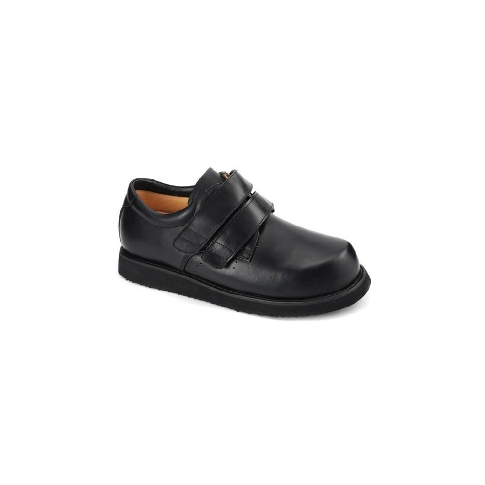 Black - Mt. Emey 802 Men's Dress Shoes - Extra Depth