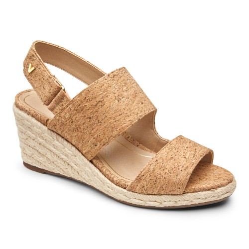 Vionic Brooke - Women's Comfort Wedge Sandal