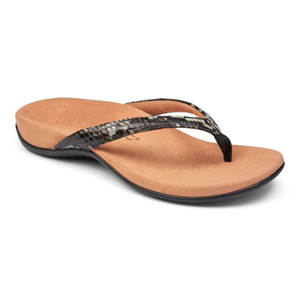 Vionic Dillon - Women's Comfort Toe Post Sandals
