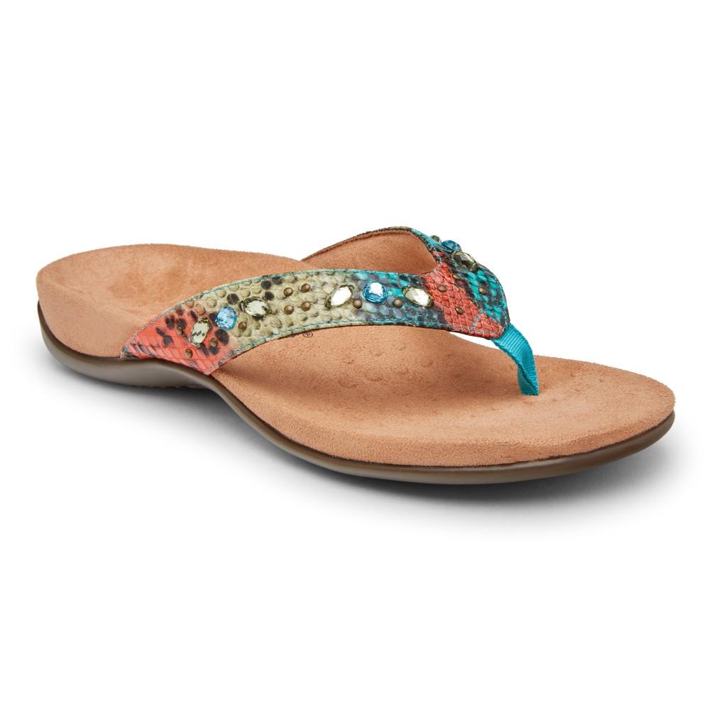 Vionic Lucia - Women's Comfort Thong Sandal Flip-Flops