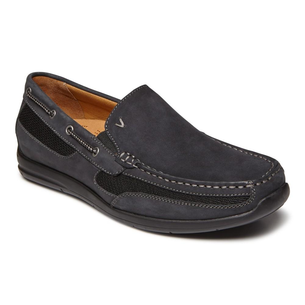 Vionic Earl - Men's Comfort Men's Astor Earl Slip On Casual Boat Shoe