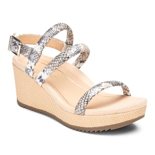 Vionic Kora - Women's Comfort Wedge Espadrille Sandals