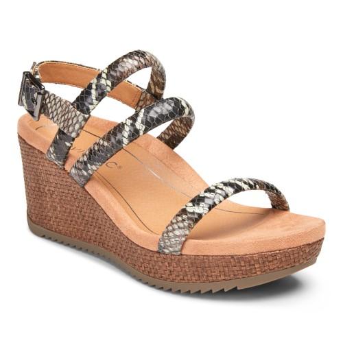 Vionic Kora - Women's Comfort Wedge Espadrille Sandals