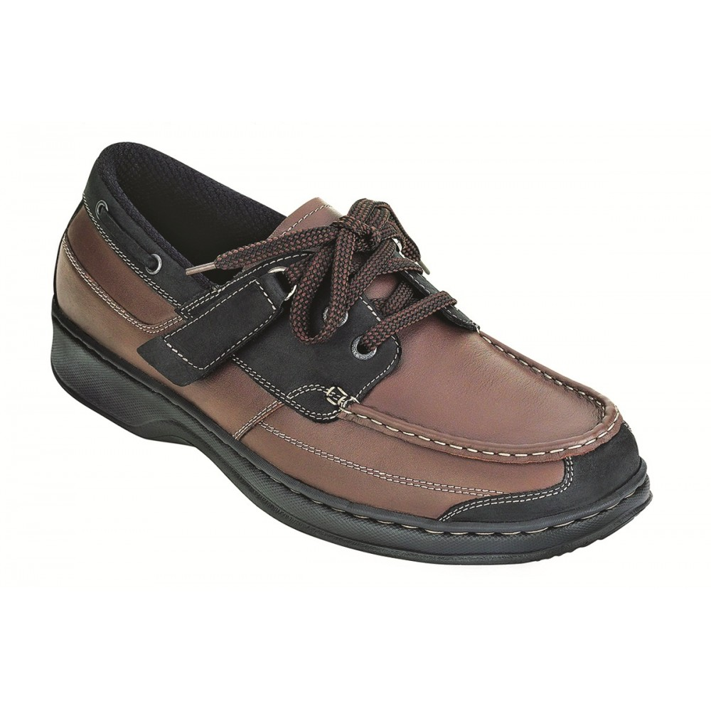Orthofeet Avery Island - Men's Orthopedic Boat Shoes
