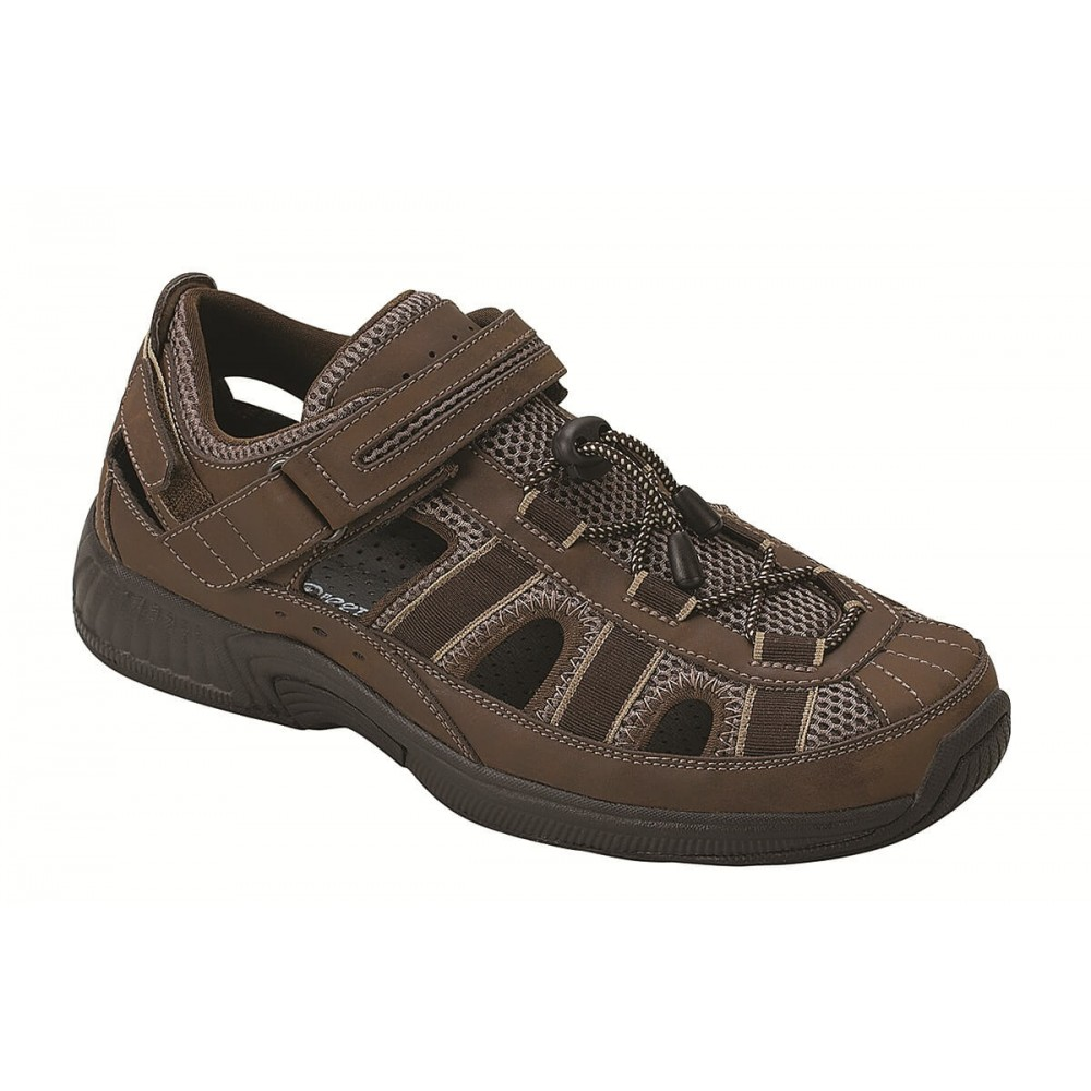 Orthofeet Clearwater - Men's Orthopedic Fisherman Sandals