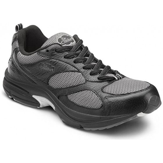 Dr. Comfort Endurance Plus - Men's Orthopedic Lace Active Shoes