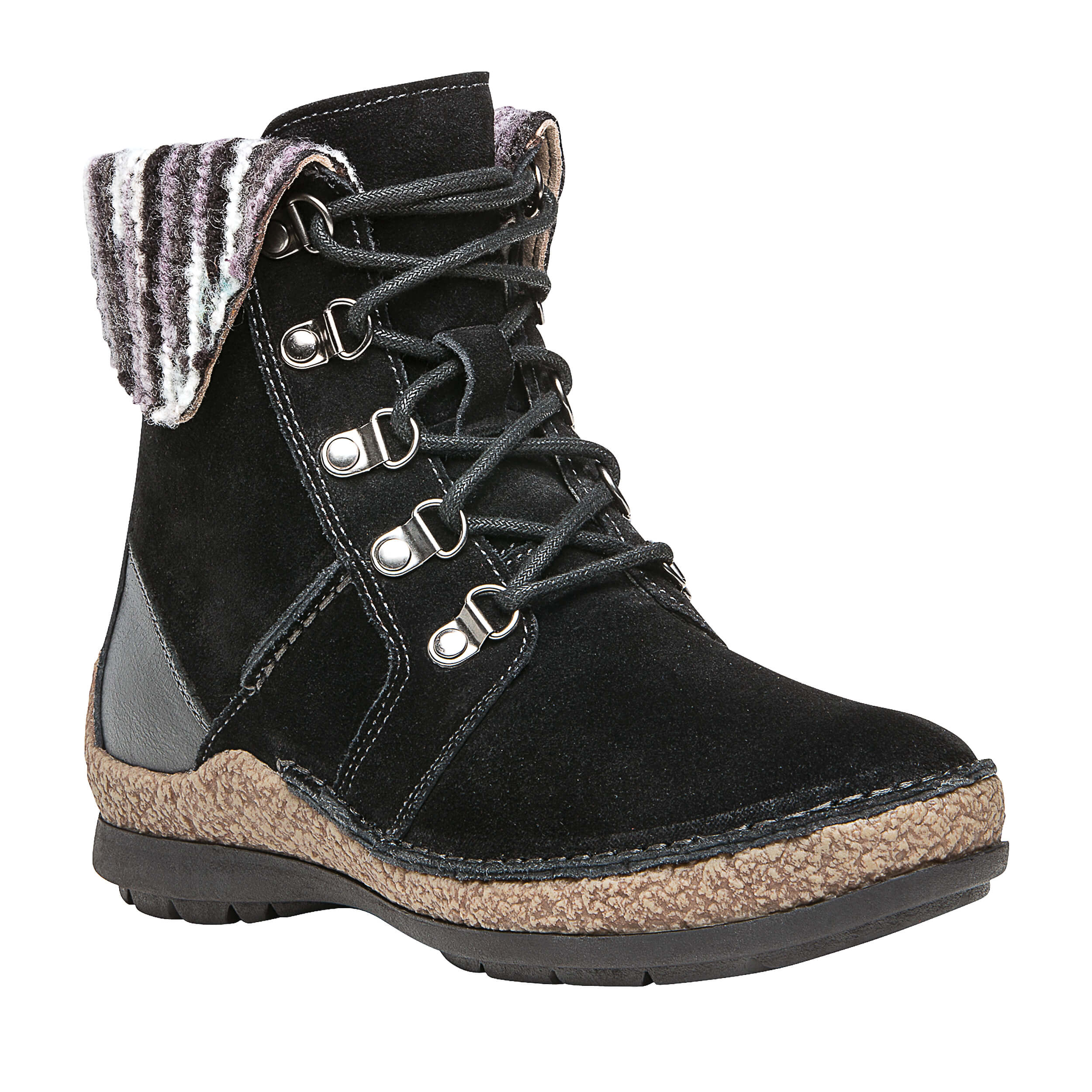 herstyle boots temptng toe on tempting closed slip s taupe for booties block comfortable main low basel stack women heel comforter walking