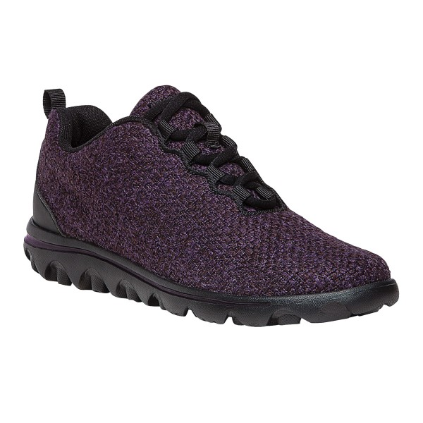 Propet WAT022M Womens Travel Activ Woven Walking Athletic Sneakers Shoes
