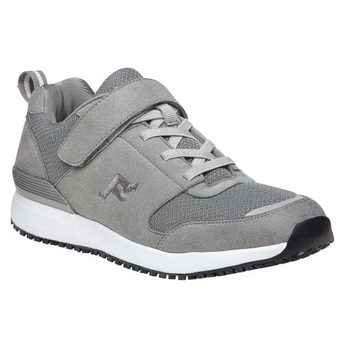 Propét Stewart - Men's Slip-Resistant Strap Walking Sneaker