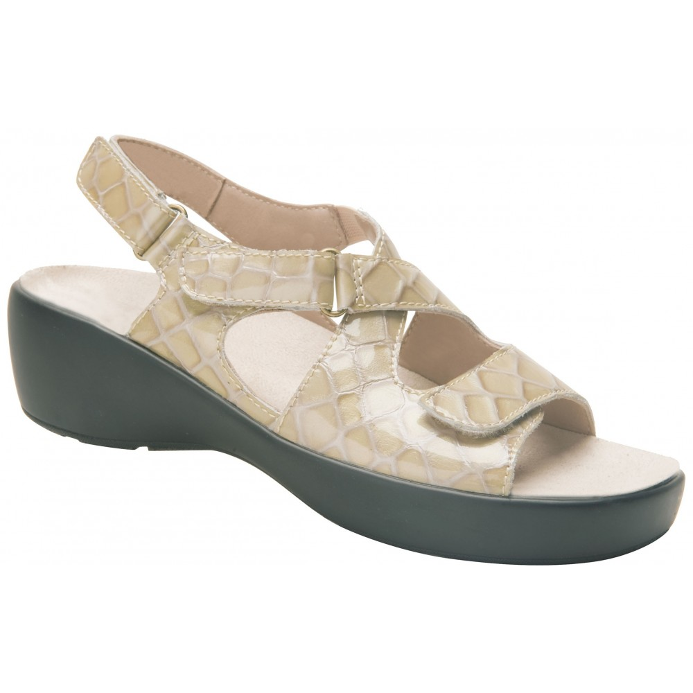 Abby - Bone - Women's Shoe - Drew Shoe