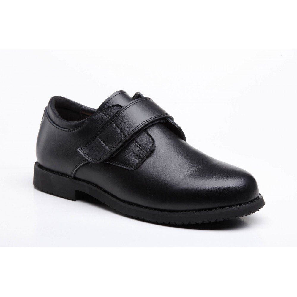 Mt. Emey 2012 - Men's Orthopedic Slip-Resistant Strap Dress Shoe