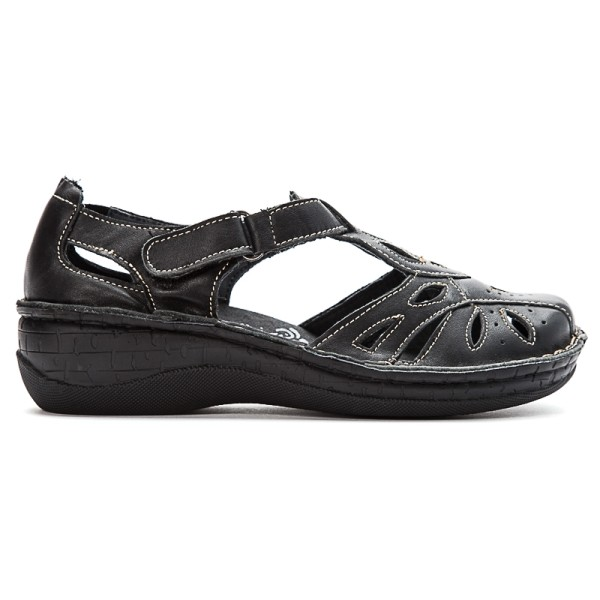 Prop 233 T Jenna Women S Comfort Closed Toe Sandals Flow Feet