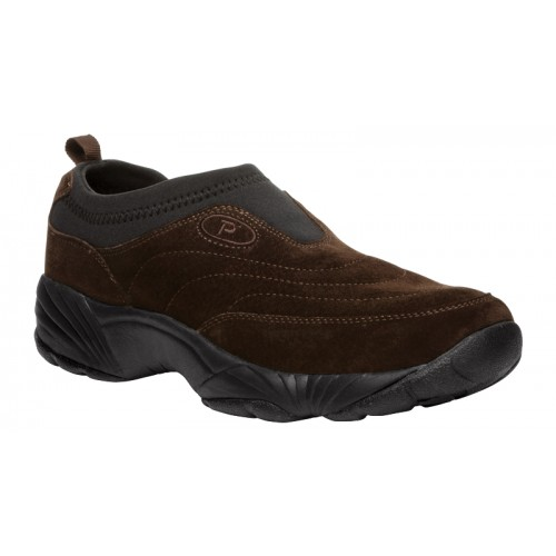 Propét Wash & Wear Slip-On II Suede - Men's Casual Slip-On