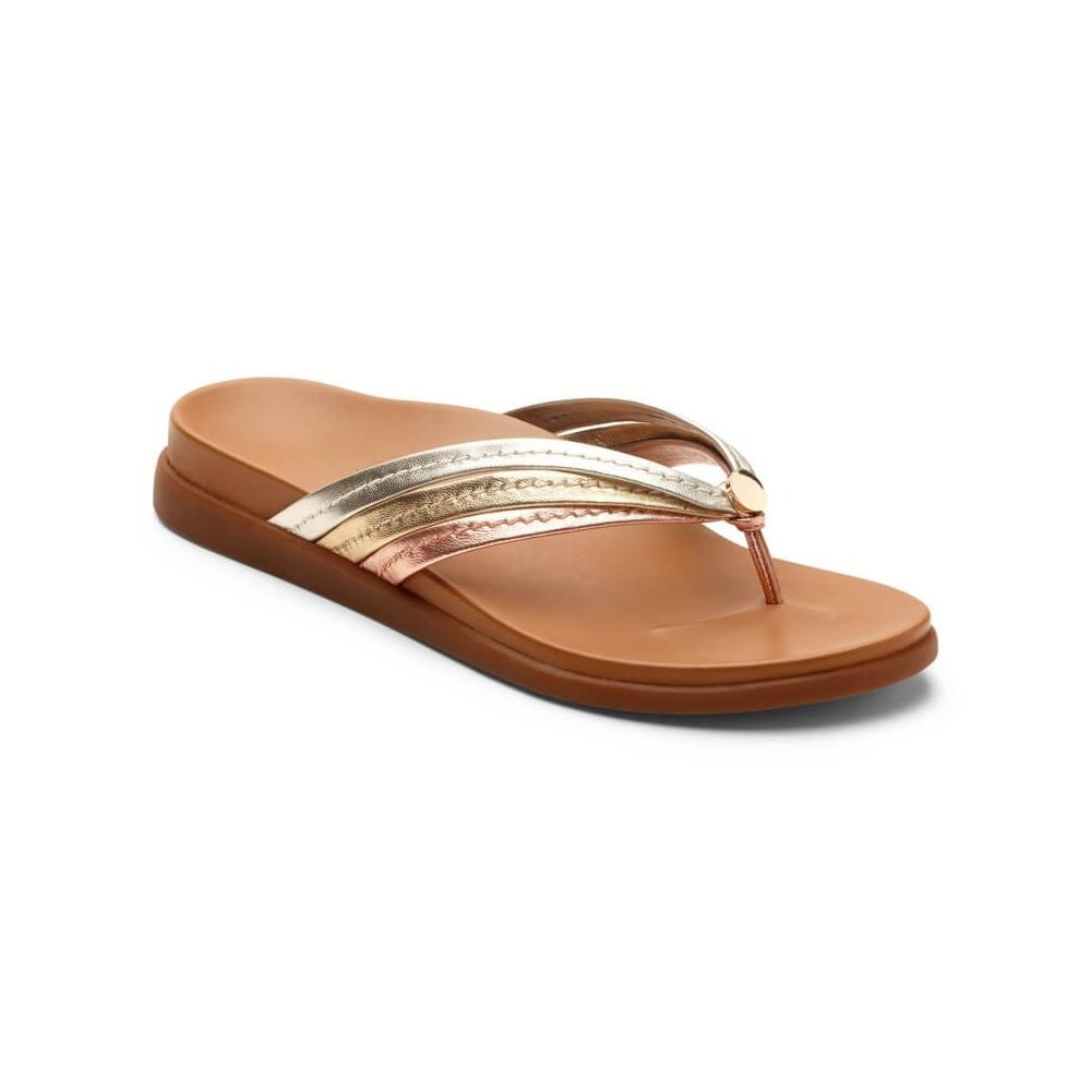 Vionic Palm Catalina- Women's Toe Post Sandals