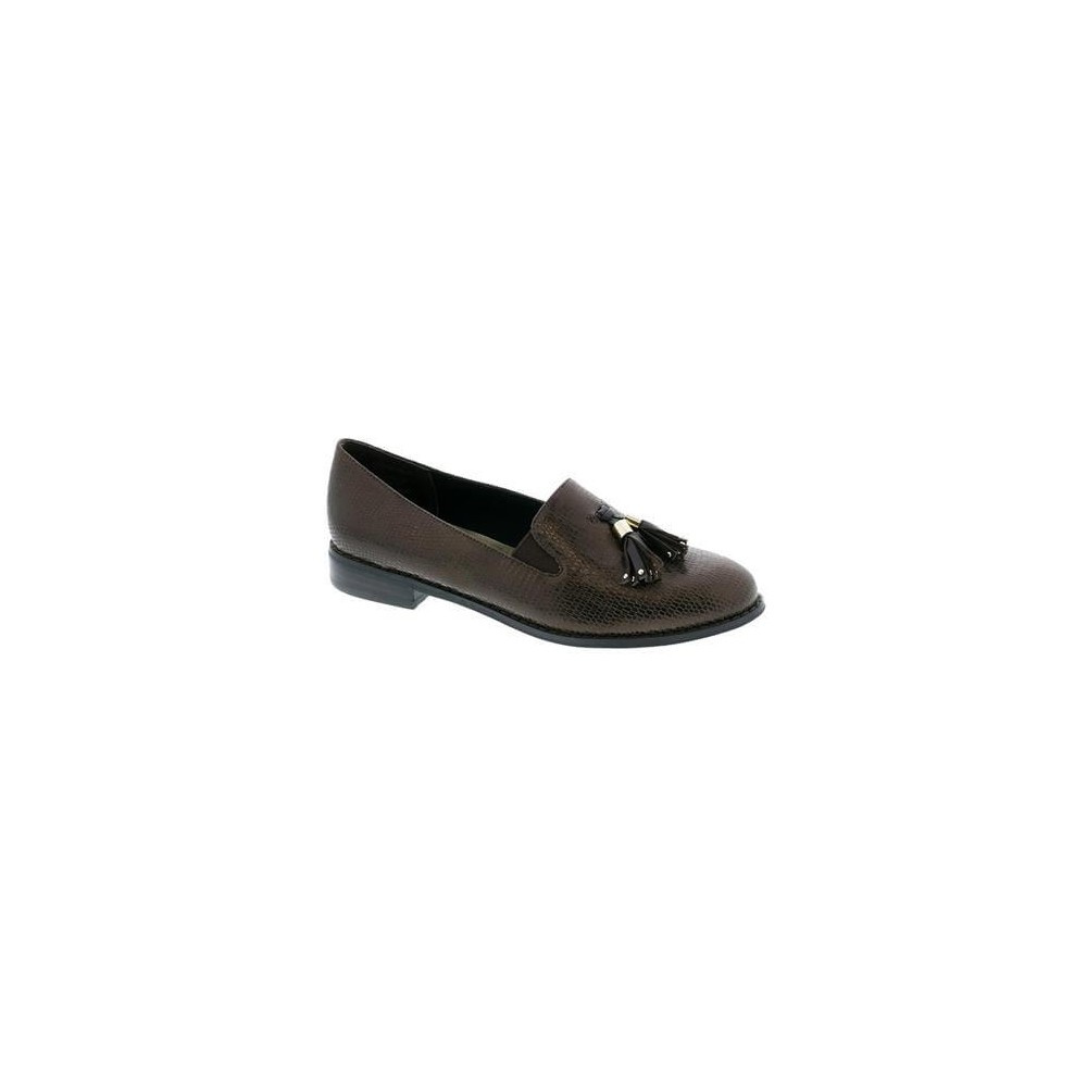 Ros Hommerson Dixie - Women's Flat Leather Dress Shoes