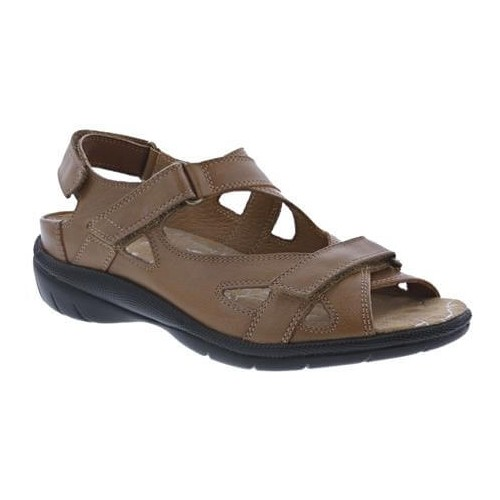Drew Lagoon - Women's Leather Sandals