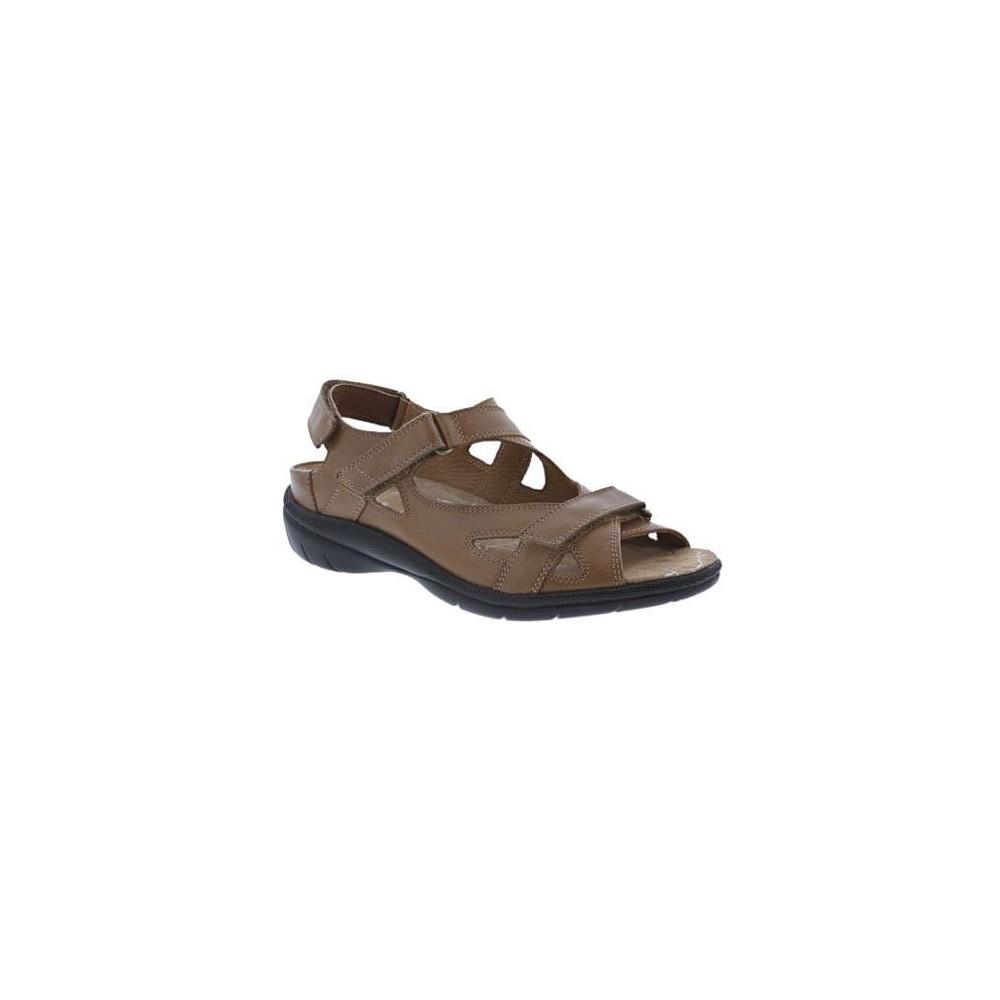 Drew Lagoon - Women's Leather Sandals