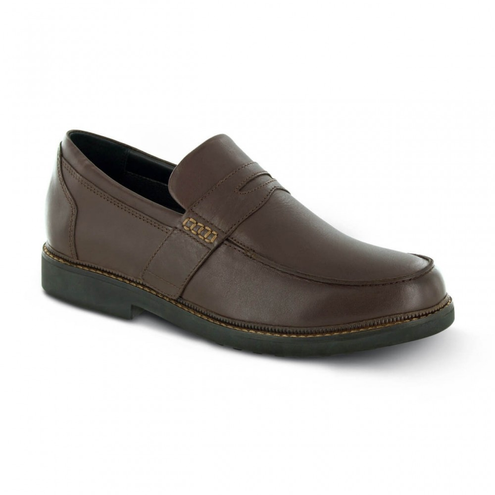 Apex Lexington Strap - Men's Penny Loafer Dress Shoes
