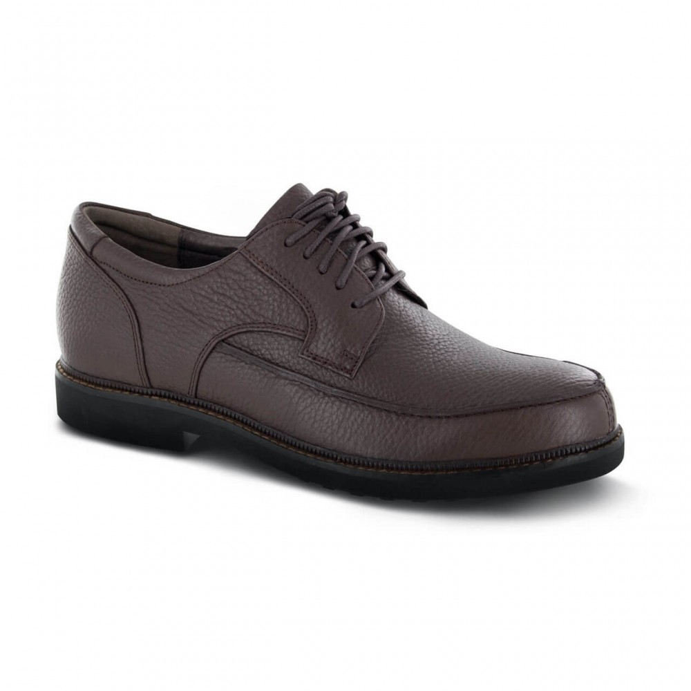 Apex Lexington Moc Toe Oxford Men's Dress Shoes