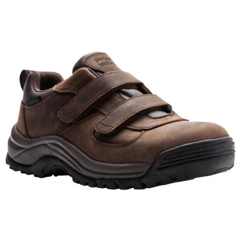 Propet Cliff Walker Low Strap - Men's Low-Top Velcro Strap Hiking Shoes