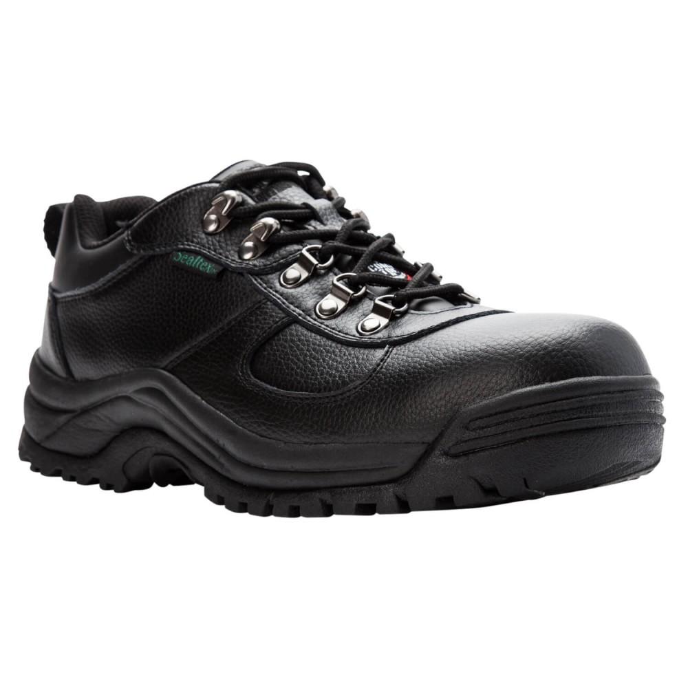 Propet Shield Walker Low - Men's Composite Toe Comfort Low-Top Work Shoes