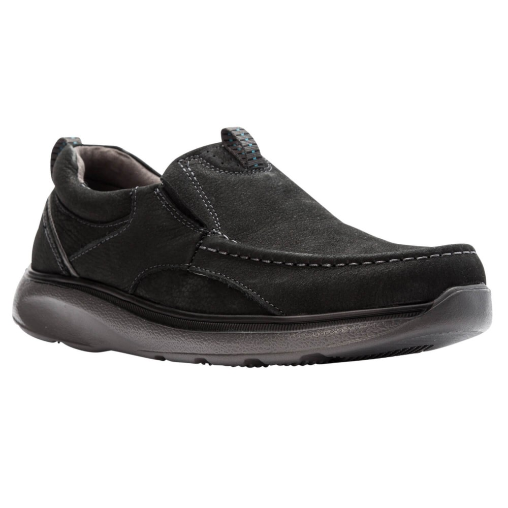 Propet Owen - Men's Slip-On Tumbled Leather Shoes